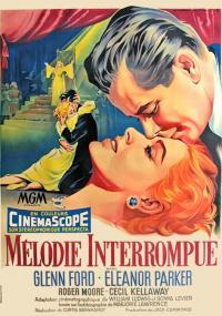 Przerwana melodia (1955) plakat
