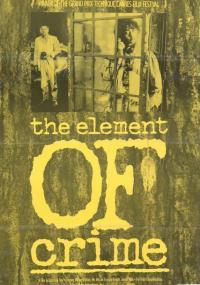 Element zbrodni (1984) plakat