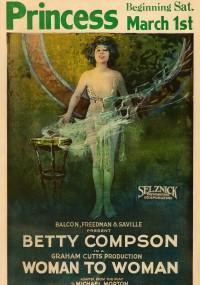 Kobieta przeciw kobiecie (1923) plakat