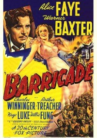 Barykada (1939) plakat