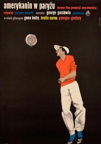 Amerykanin w Paryżu (1951) plakat