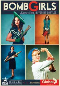 Bombowe dziewczyny (2012) plakat