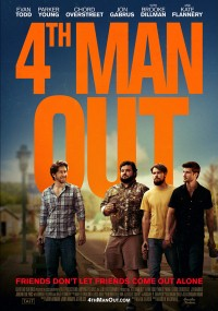 Fourth Man Out (2015) plakat