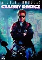plakat - Czarny deszcz (1989)