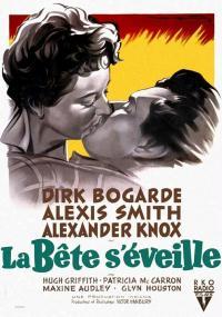 Śpiący tygrys (1954) plakat