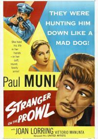 Imbarco a mezzanotte (1952) plakat