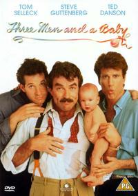 Trzech mężczyzn i dziecko (1987) plakat