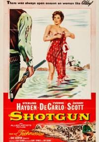 Shotgun (1955) plakat