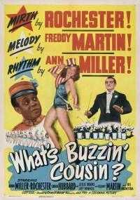 What's Buzzin', Cousin? (1943) plakat