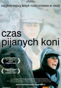 Czas pijanych koni (2000) plakat