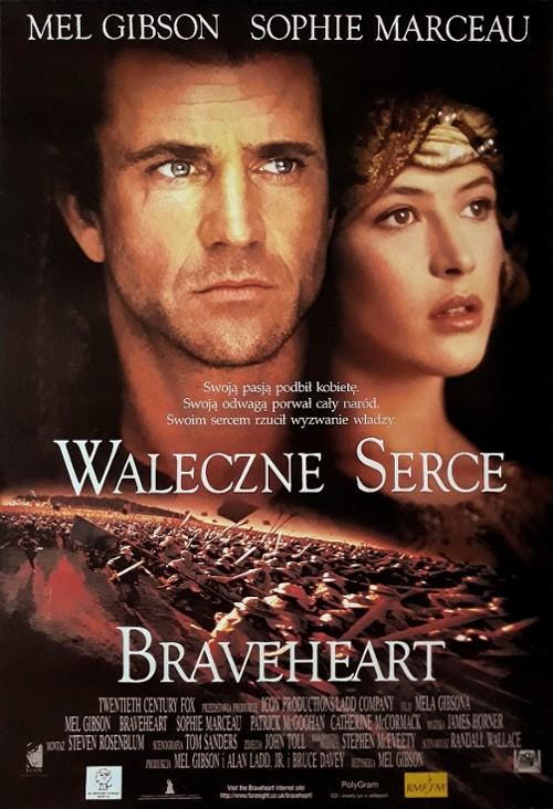 Braveheart - Waleczne Serce Poster