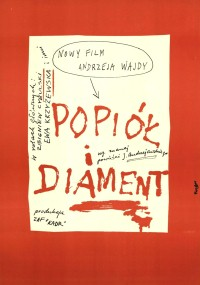 Popiół i diament (1958) plakat