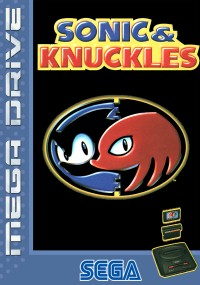 Sonic and Knuckles (1994) plakat