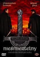 plakat - Nieśmiertelny IV: Ostatnia rozgrywka (2000)