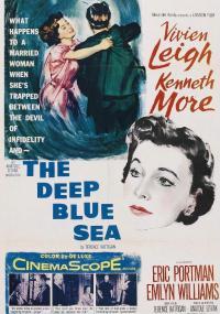 The Deep Blue Sea (1955) plakat