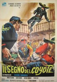 Il Segno del coyote (1963) plakat