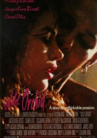 Dzika orchidea (1989) plakat