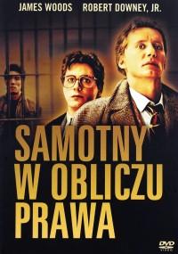 Samotny w obliczu prawa (1989) plakat