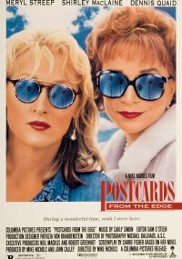 Pocztówki znad krawędzi (1990) plakat