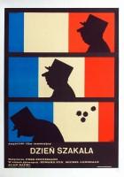 plakat - Dzień szakala (1973)