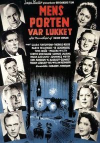 Mens porten var lukket (1948) plakat