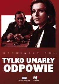 Tylko umarły odpowie (1969) plakat