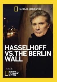 David Hasselhoff i mur berliński