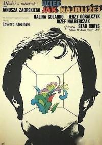 Uciec jak najbliżej (1972) plakat