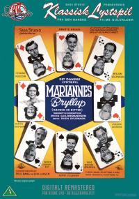 Mariannes bryllup (1958) plakat