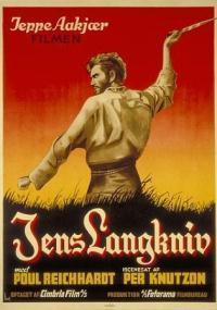 Jens Langkniv (1940) plakat