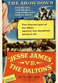 Jesse James vs. the Daltons (1954) plakat