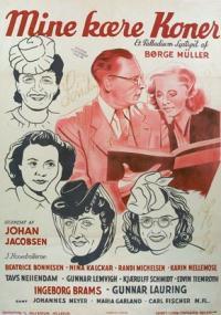 Mine kære koner (1943) plakat