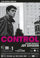 plakat - Control (2007)