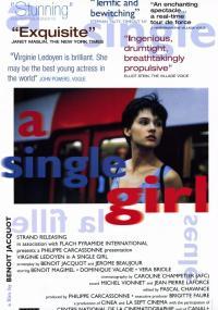 Samotna dziewczyna (1995) plakat
