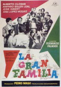 La Gran familia (1962) plakat