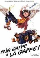 Fais gaffe a la gaffe (1981) plakat
