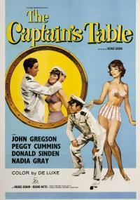 The Captain's Table (1959) plakat