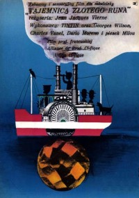 Tajemnica złotego runa (1961) plakat