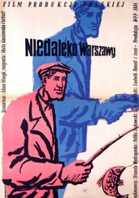 Niedaleko Warszawy (1954) plakat