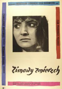 Zimowy zmierzch (1956) plakat