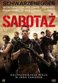 Sabotaż (2014) plakat