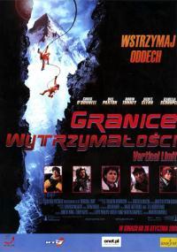 Granice wytrzymałości (2000) plakat