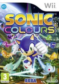 Sonic Colors (2010) plakat