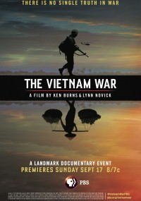 Wojna wietnamska: film Kena Burnsa i Lynn Novick (2017) plakat
