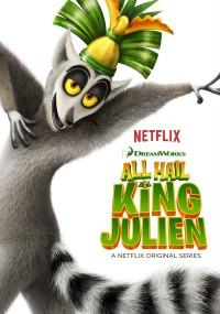 Niech żyje Król Julian (2014) plakat