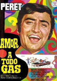 Amor a todo gas (1969) plakat