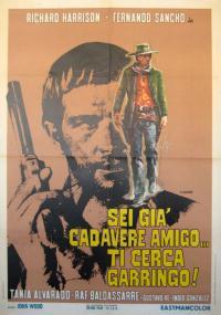 Abre tu fosa amigo... llega Sábata (1971) plakat