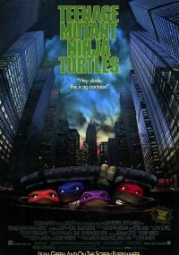 Wojownicze Żółwie Ninja (1990) plakat