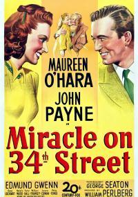 Cud na 34 ulicy (1947) plakat