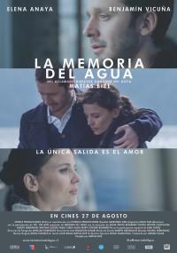 La memoria del agua (2015) plakat